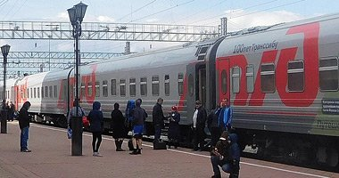 Train 2, the Rossiya, from Moscow to Vladivostok
