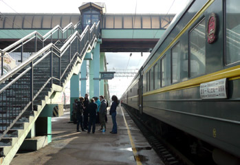 Train 4 to Beijing, at Ulan Ude