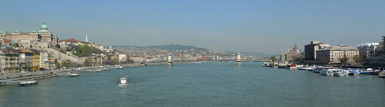City of Budapest & the Danube