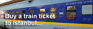 Buy train tickets to Istanbul