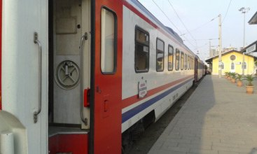 Train from Iskenderun to Adana