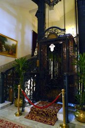 Pera Palace hotel lift