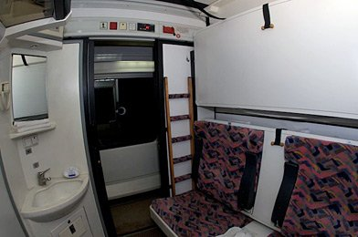 Turkish sleeping-car compartment