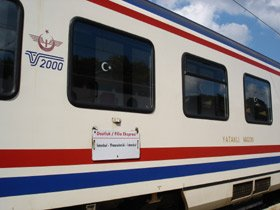 Turkish TVS2000 sleeping-car