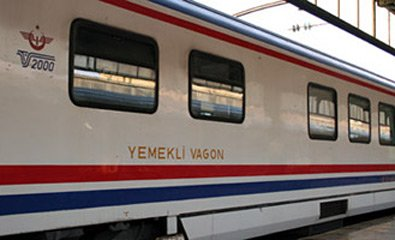 Trains in Turkey:  A TVS2000 restaurant car