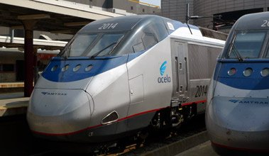 Amtrak's high-speed Acela Express train