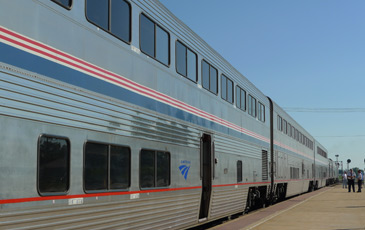 The California Zephyr at Galesburg