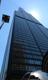 The Sears Tower (Willis Tower) in Chicago
