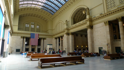 Chicago Union Station, interior