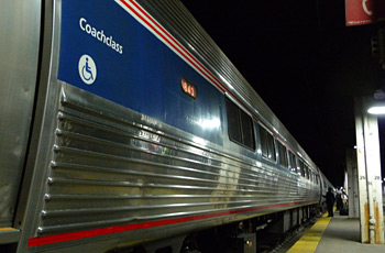 Amtrak's Lake Shore Limited train arrived in Chicago.