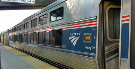 Amtrak's Lake Shore Limited at Albany