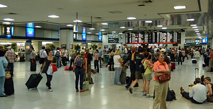 New York Penn Station, main concourse