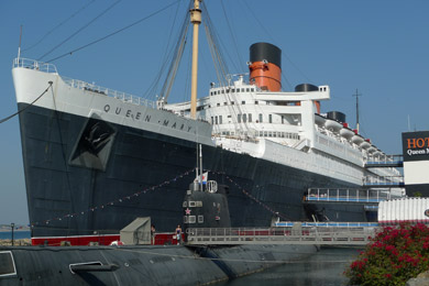 Hotel Queen Mary, Long Beach, California