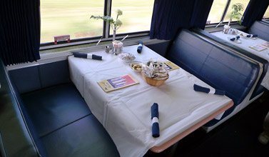 Amtrak Superliner lounge car