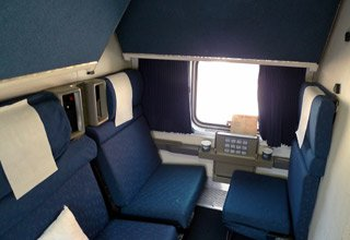 Amtrak Superliner family bedroom