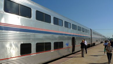 Amtrak Superliner train