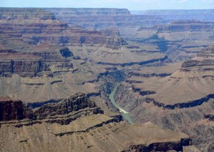 View of the Grand Canyon, easily reached by train!