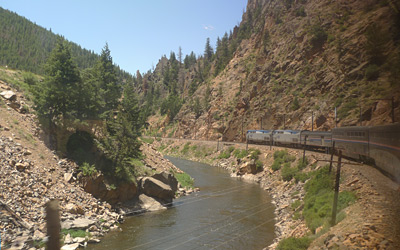More Colorado scenery seen from the California Zephyr