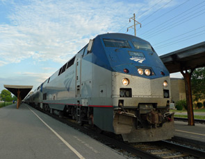 Amtrak's California Zephyr at Ottumwa