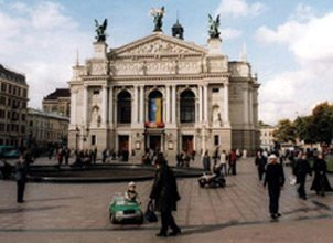 The opera house, Lviv, Ukraine