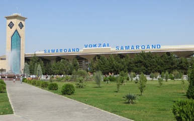 Samarkand train station