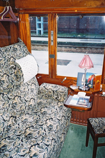 Venice Simplon Orient Express: sleeper compartment - day