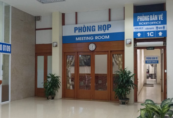 Hanoi station ticket office