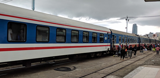 Train SE3 at Danang