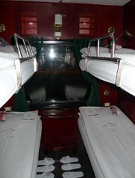 Victoria Express train, 4-berth sleeper