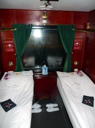 Victoria Express train, VIP 2-berth sleeper
