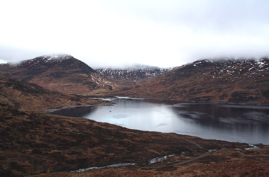 More West Highland Line scenery: Another view of Loch Treig
