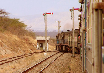 The Tazara train from Dar es Salaam to Mbeya (copyright Sebastiaan van Kooij)