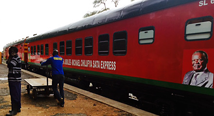 Zambia's Jubilee Express train