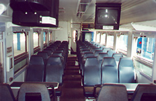 Economy class on the Bulawayo-Harare overnight train