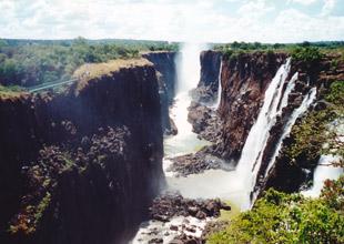 Victoria Falls (seen from the Zambian side)