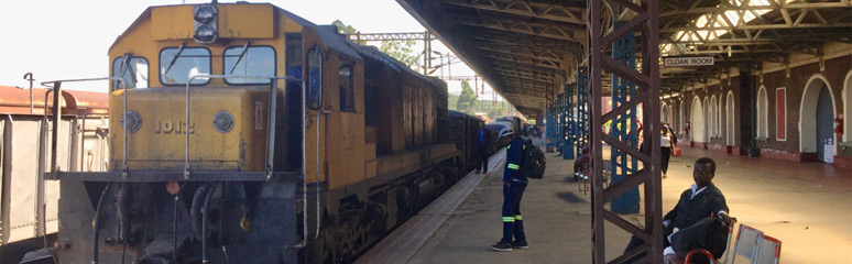 Train from Harare arrived at Bulawayo