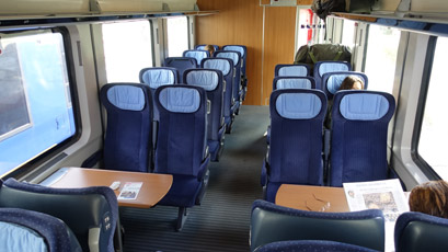 2nd class on the Intercity