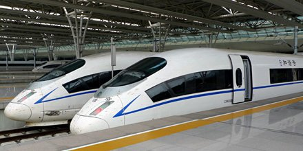 Beijing to Shanghai by train   Times  prices  online tickets Seat    CHR   B train to Beijing at Shanghai Hongqiao station