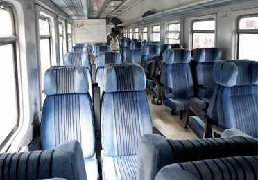 2nd class seats on day train from Belgrade to Sofia