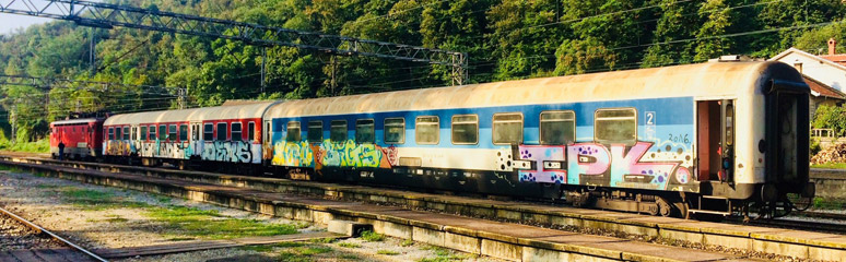 The Belgrade to Sofia train
