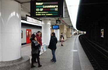 Plateformes de Bruxelles Central