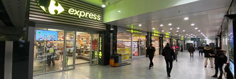 Supermarché Bruxelles Midi
