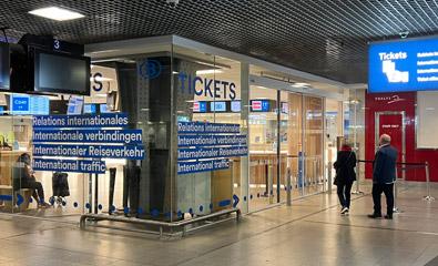 Billetterie internationale Bruxelles Midi