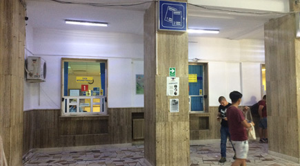 Bucharest international ticket window