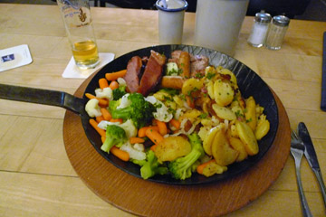 Food at the Brauhaus Sion