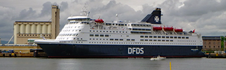 DFDS ferry from Copenhagen to Oslo