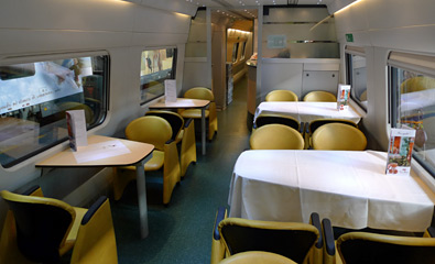 ETR610 restaurant car