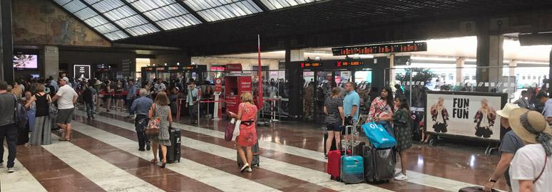 佛罗伦萨SMN车站大厅