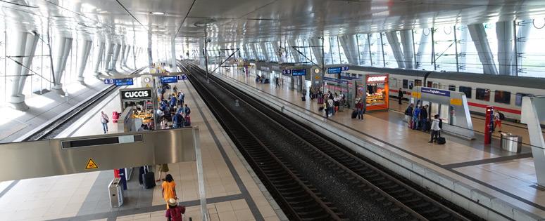 法兰克福Flughafen平台