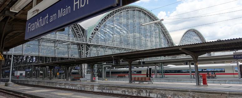法兰克福(主要)Hbf小火车